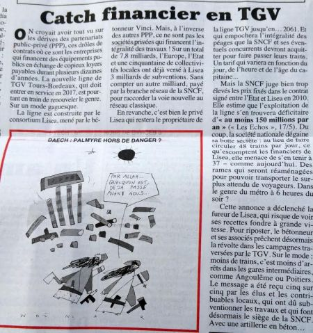 Catch financier en tgv