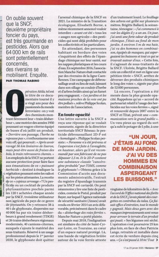 Article Marianne 23 01 2020 pag 1